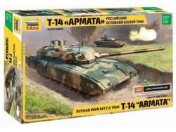 Модель сборная ZVEZDA Российский боевой танк Т-14 Армата, без красок , 1/35