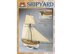 Картонная модель сборная Shipyard кутер HMS Alert (№50), 1:96