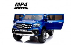 Детский электромобиль Mercedes-Benz X-Class 4WD MP4 - XMX606-BLUE-PAINT-MP4