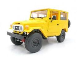 Радиоуправляемая машина внедорожник WPL FJ40 (желтая) C-34KM-Y 4WD 1:16 KIT