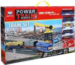 Железная дорога с краном (670 см) - BSQ-2082