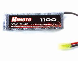 Аккумулятор для машинки на радиоуправлении Himoto е18 (1100 mAh)