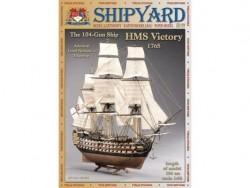 Сборная модель картон Shipyard линкор HMS Victory 1/96