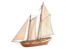 Сборная модель корабля из дерева Artesania Latina VIRGINIA AMERICAN SCHOONER, 1/41