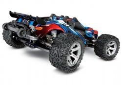 Радиоуправляемая трагги Traxxas Rustler 4X4 VX TSM 4WD 1:10 - TRA67076-4-BL