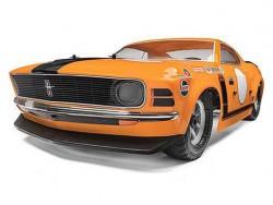 Шоссейный автомобиль HPI Racing BAJA 5R 1970 FORD MUSTANG 2WD RTR масштаб 1:5 2.4G HPI-115123