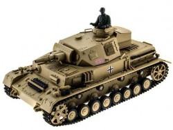 Радиоуправляемый танк Heng Long DAK Panzerkampfwagen IV Ausf F-1 Upg 1:16 - 3858-1Upg V6.0
