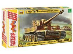 Модель сборная ZVEZDA Немецкий танк «Тигр» 1:35 подарочный