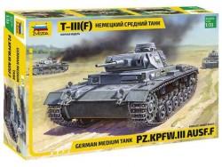 Модель Сборная ZVEZDA Немецкий средний танк T-III (F), 1:35