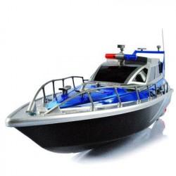 Радиоуправляемый полицейский катер 1:20 Heng Tai - HT-2875B-BLUE