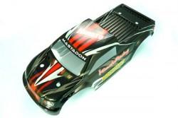 Кузов монстра черный для автомоделей Himoto E18MT, E18MTL. Hi28661