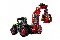 Конструктор Lepin Technics 20009 трактор Claas Xerion 5000 Trac VC - Technic 42054
