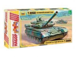 Модель сборная ZVEZDA Основной танк Т-80 БВ, подарочный набор, 1:35