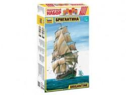 Модель сборная ZVEZDA Brigantina, подарочный набор, 1/100 ZV-9011П