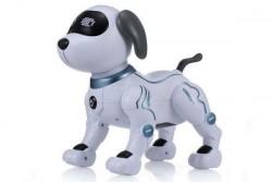Радиоуправляемая робот-собака LENENG TOYS K16 звук, свет, танцы, сенсор