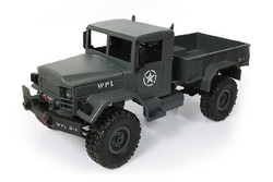 WPL Military Truck 4WD 1:16 Серый WPLB-14-Blue