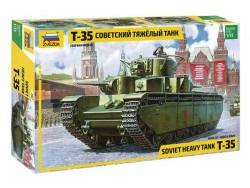 Модель сборная ZVEZDA Советский танк Т-35, 1/35