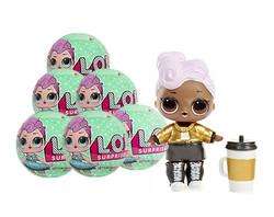 Кукла-сюрприз в шаре LOL Surprise Серия 2 6 шт