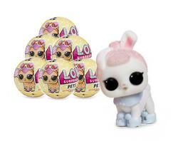 Кукла-сюрприз в шаре LOL Surprise Серия 3 Pets 6 шт