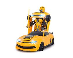 Радиоуправляемый робот-трансформер MZ Chevrolet Camaro 1:14 2.4G MZ-2314K