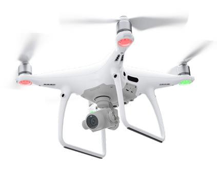 Квадрокоптер DJI Phantom 4 PRO - купить в СПб дрон с камерой в магазине COPTERDRONE