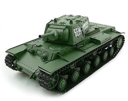 Радиоуправляемый танк Heng Long КВ-1