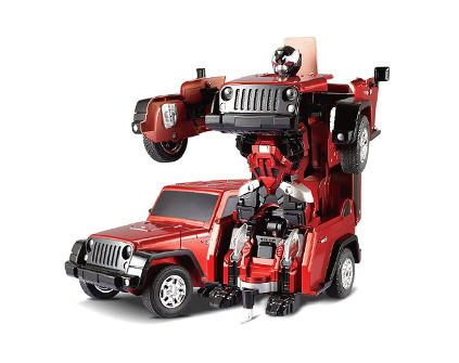 Радиоуправляемый робот-трансформер JQ Troopers Crazy TT665 - купить недорого в СПб в интернет-магазине