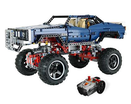 Радиоуправляемый конструктор Монстр Трак 4x4 Crawler Lepin Technics 20011 - купить недорого в Санкт-Петербурге в интернет-магазине