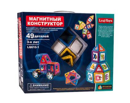 Магнитный конструктор Leqi-Toys 49 деталей - купить недорого в СПб в интернет-магазине