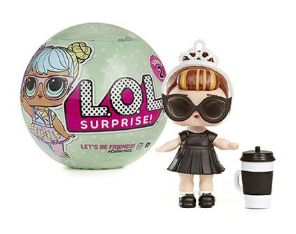 Кукла-сюрприз в шаре LOL Surprise Серия 2 1 шт - купить недорого в СПб в интернет-магазине
