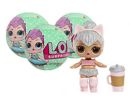 Кукла-сюрприз в шаре LOL Surprise Серия 2 3 шт - купить недорого в СПб в интернет-магазине