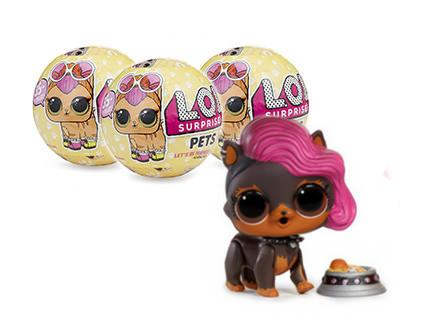 Кукла-сюрприз в шаре LOL Surprise Серия 3 Pets 3 шт - купить недорого в СПб в интернет-магазине