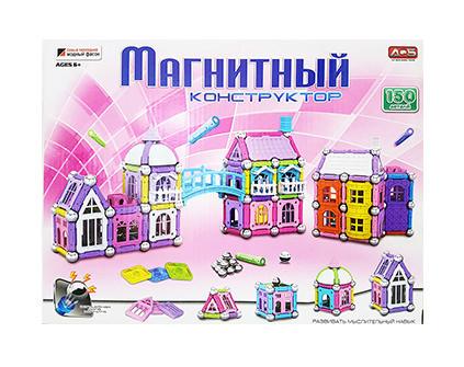Магнитный конструктор Mag-Building 150 деталей - купить недорого в СПб в интернет-магазине