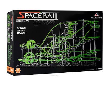 Конструктор SpaceRail 8-233-8G космические горки - купить недорого в СПб в интернет-магазине