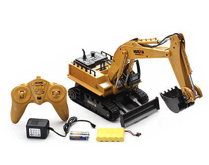 Радиоуправляемый экскаватор Hui Na Toys HN1510 - купить недорого в Санкт-Петербурге в интернет-магазине