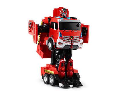 Радиоуправляемый робот-трансформер Jia Qi Пожарная машина JQ6608 - купить недорого в Москве в интернет-магазине