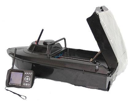 Радиоуправляемый катер Jabo 2BL для рыбалки - купить недорого в СПб в интернет-магазине