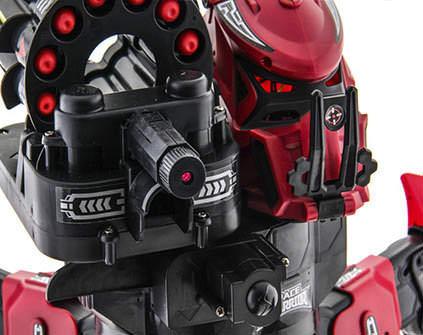 Купить робот-паук Space Warrior Red Rocket - купить недорого в СПб в интернет-магазине