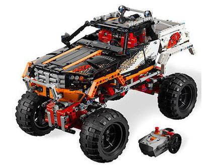 Радиоуправляемый конструктор Внедорожник 4x4 Crawler Lepin Technics 20014 - купить недорого в Санкт-Петербурге в интернет-магазине
