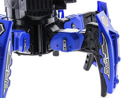 Купить робот-паук Space Warrior Blue Rocket - купить недорого в СПб в интернет-магазине