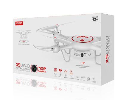 Квадрокоптер Syma X5UW-D - купить недорого в Санкт-Петербурге в интернет-магазине