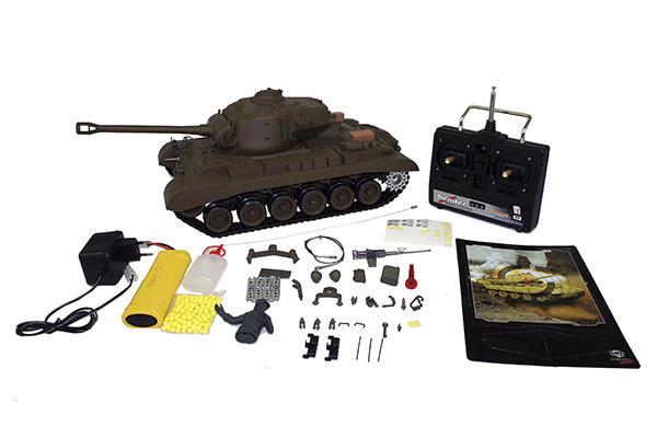 Радиоуправляемый танк Heng Long Snow Leopard 3838-1 PRO