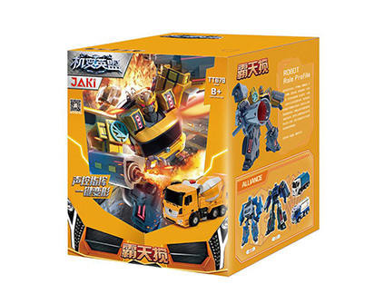 Радиоуправляемый робот-трансформер Jia Qi Бетономешалка TT679 - купить недорого в Москве в интернет-магазине