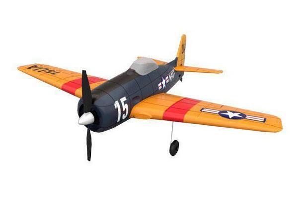 Радиоуправляемый самолет Feilun F6F Hellcat EPO TS866C