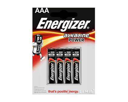 Комплект батареек Energizer AAA для пульта управления (4 шт.) - купить недорого в Санкт-Петербурге в интернет-магазине