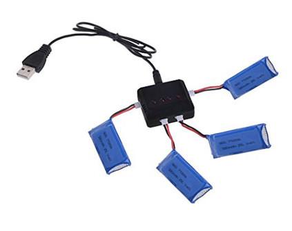 Зарядный хаб для аккумуляторов Hubsan - купить недорого в Санкт-Петербурге в интернет-магазине