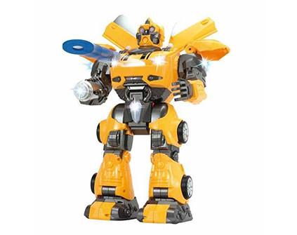 Радиоуправляемый робот-трансформер, стреляющий дисками, Defatoys Tyrant Wasp 6021 - купить недорого в Санкт-Петербурге в интернет-магазине