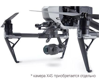 Квадрокоптер DJI Inspire 2 - купить в СПб, цена и характеристики
