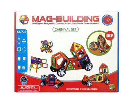Магнитный конструктор Mag-Building 56 деталей - купить недорого в СПб в интернет-магазине