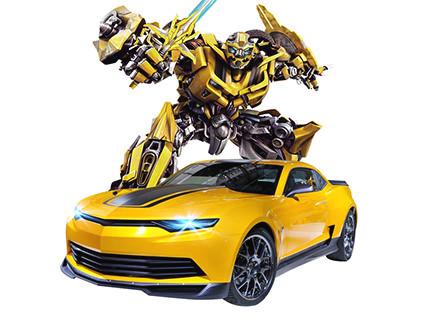 Радиоуправляемый робот-трансформер MZ Chevrolet Camaro 1:14 2313P - купить недорого в СПб в интернет-магазине